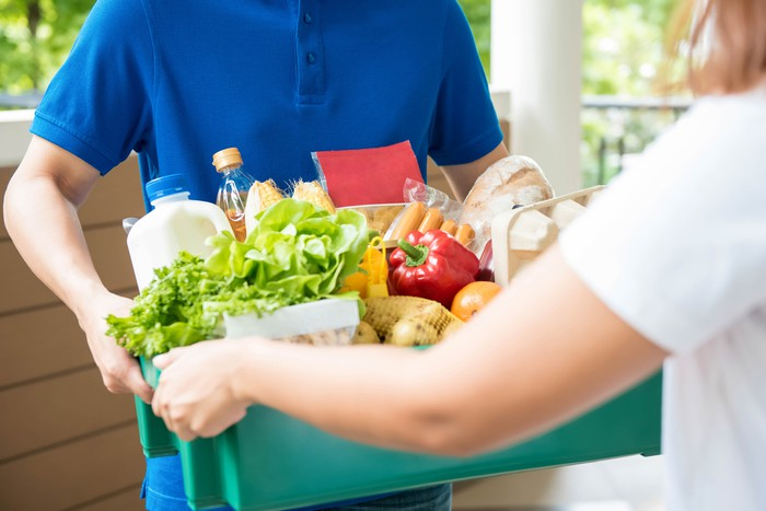 online grocery service